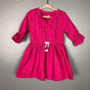 🐢Genuine Kids pink polka dot top size 3T